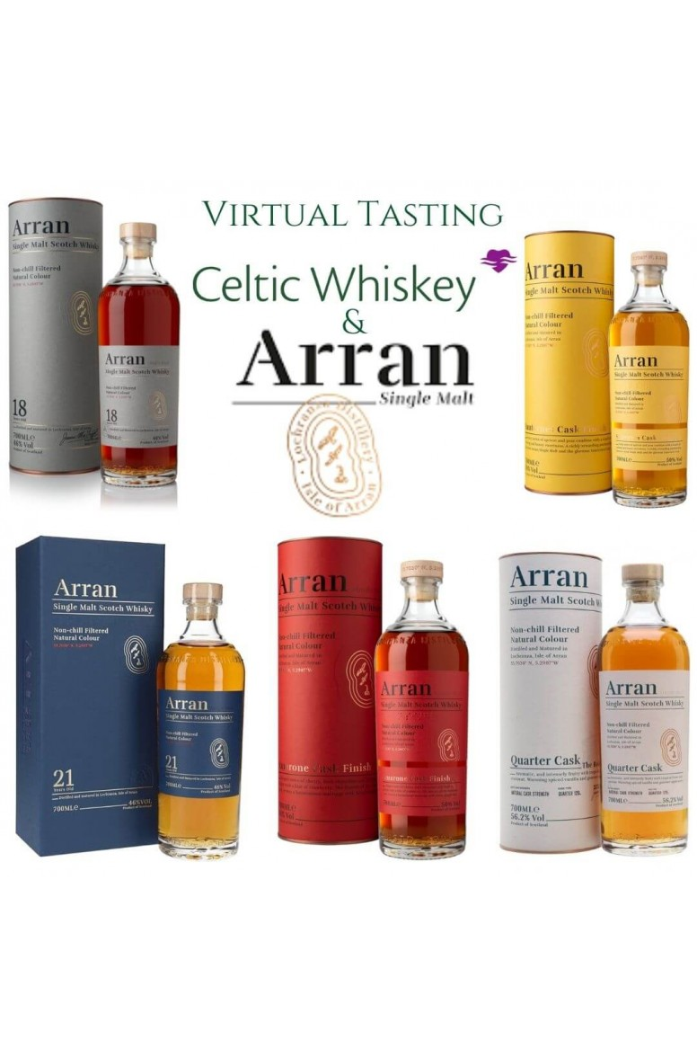 Isle of Arran Single Malt Tasting Pack Including Delivery