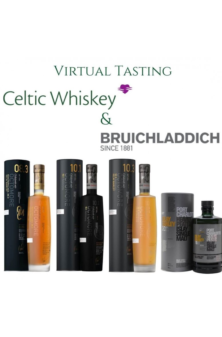 Bruichladdich Octomore and Port Charoltte Tasting Pack Including Delivery