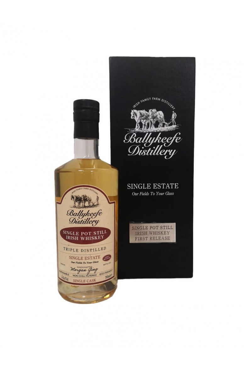 Ballykeefe First Release Single Pot Still Whiskey