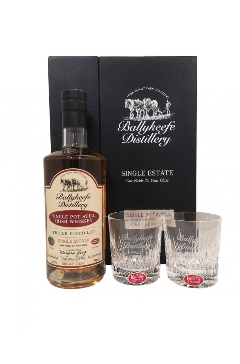 Ballykeefe First Release Cask Strength Whiskey