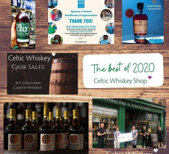 Celtic Whiskey Highlights of 2020