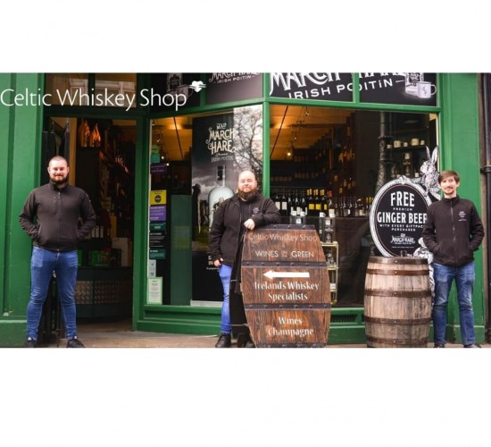 Celtic Whiskey Shop Crowned World's Best Single Outlet Retailer 2021
