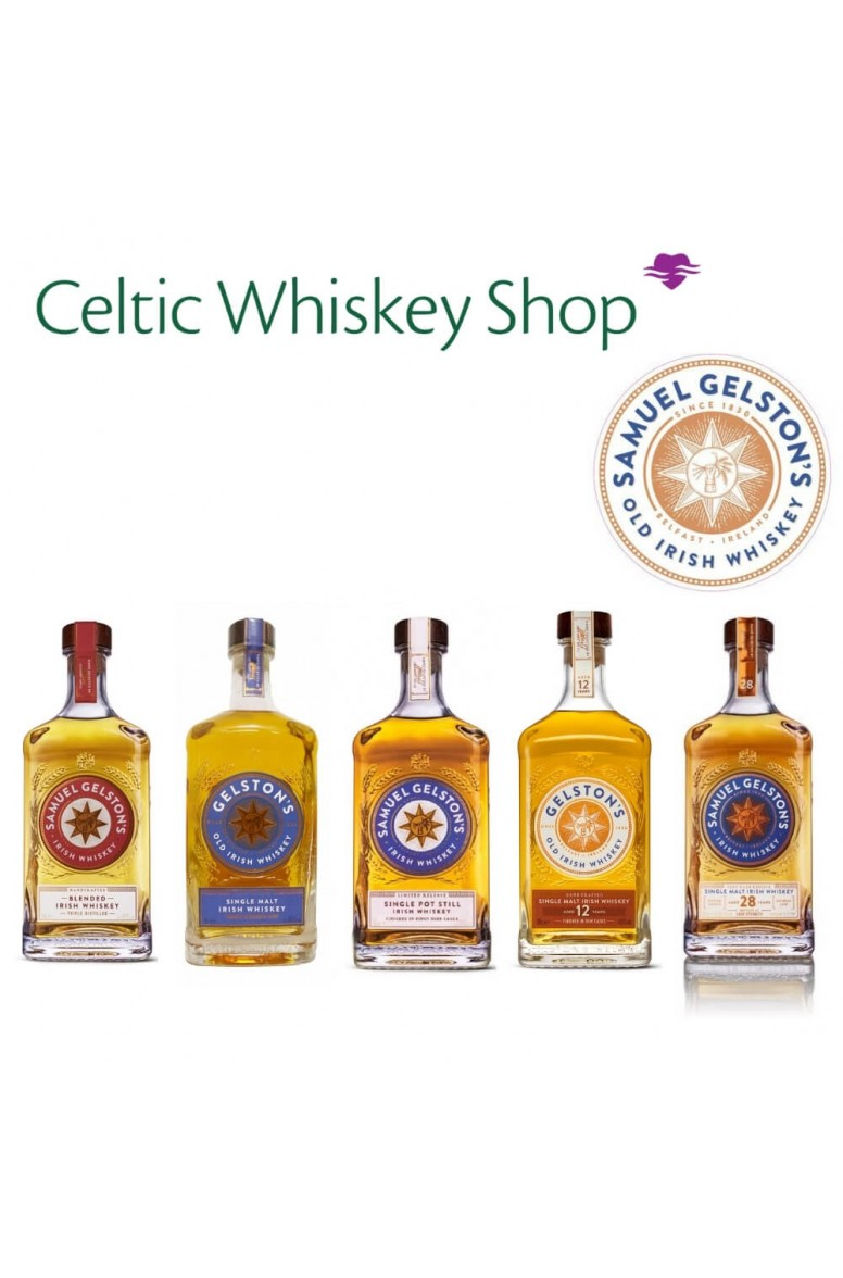 Gelstons Irish Whiskey Tasting Pack Outside EU Based Customers Including Delivery
