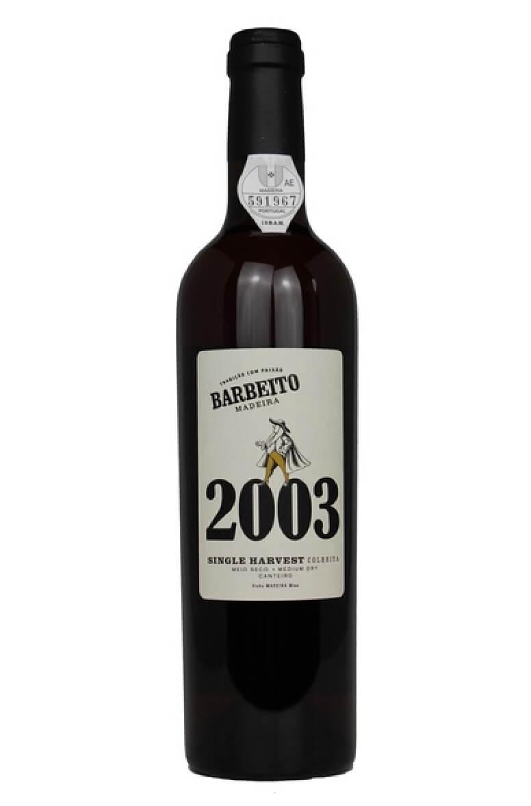 Barbeito Malvasia 2003