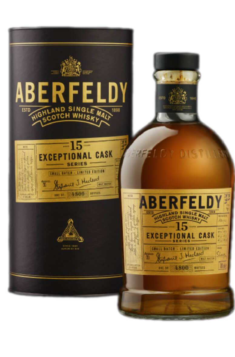 Aberfeldy Exceptional Cask 15 Year Old Sherry Finish
