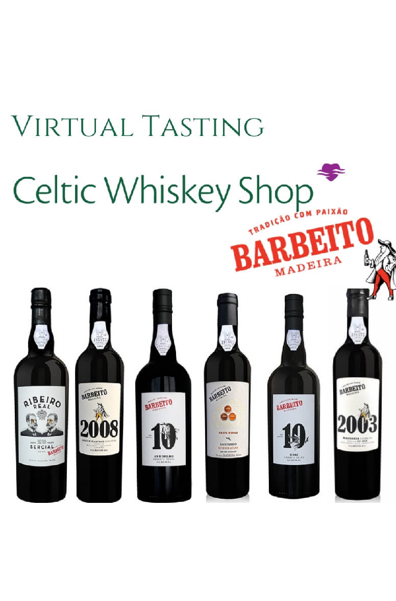 Barbeito Madeira Tasting Pack 27th May Irish Customers Inc Delivery