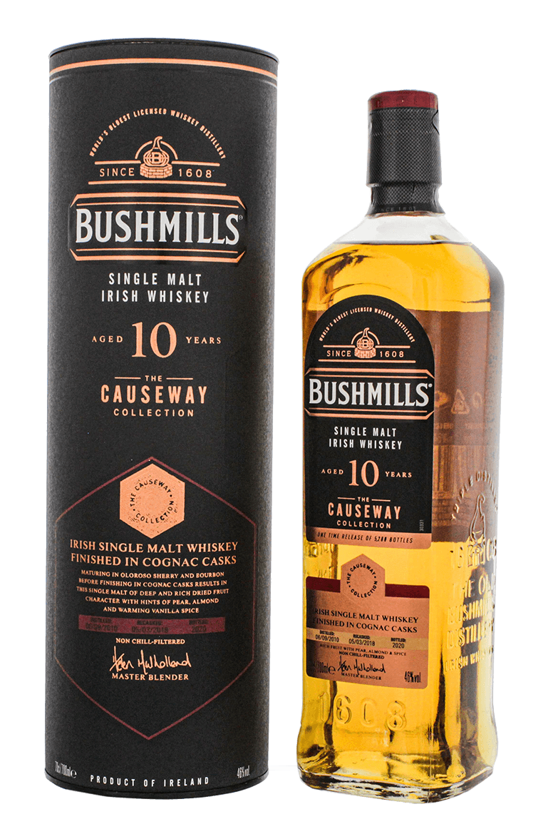 Bushmills Causeway Collection 10 Year Old Cognac Cask