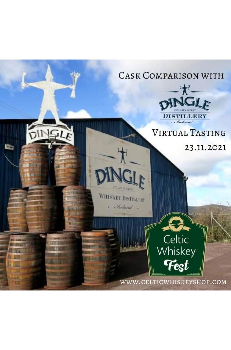 Celtic Whiskey Fest Dingle Tasting Pack Inc Delivery EU 23rd November