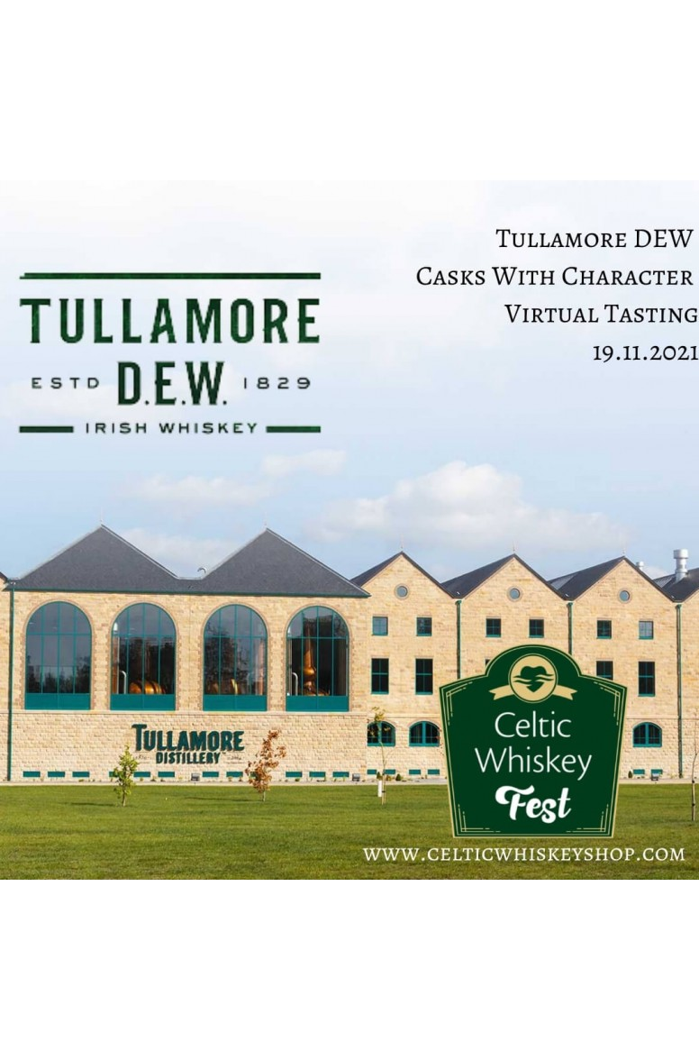 Celtic Whiskey Fest Tullamore DEW Casks With Character Tasting Pack Inc Delivery EU 19th Nov