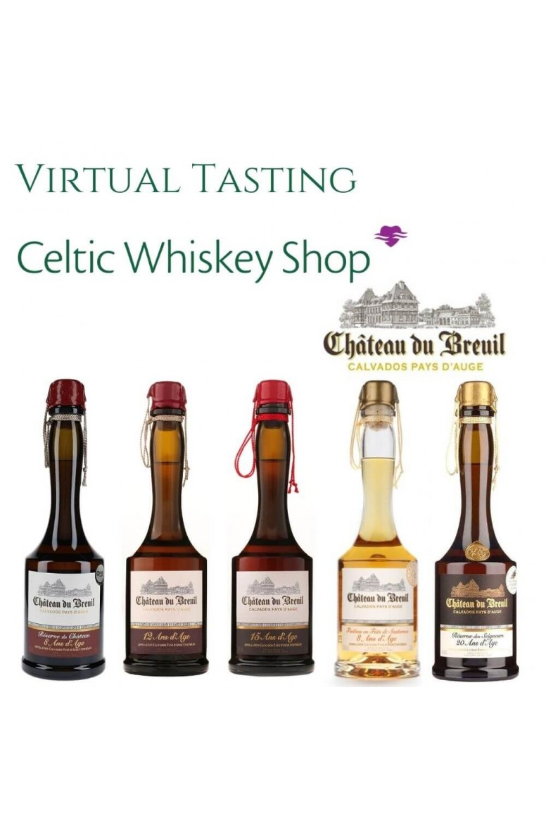 Chateau Du Breuil Calvados Tasting Pack 31st March EU Based Customers Including Delivery