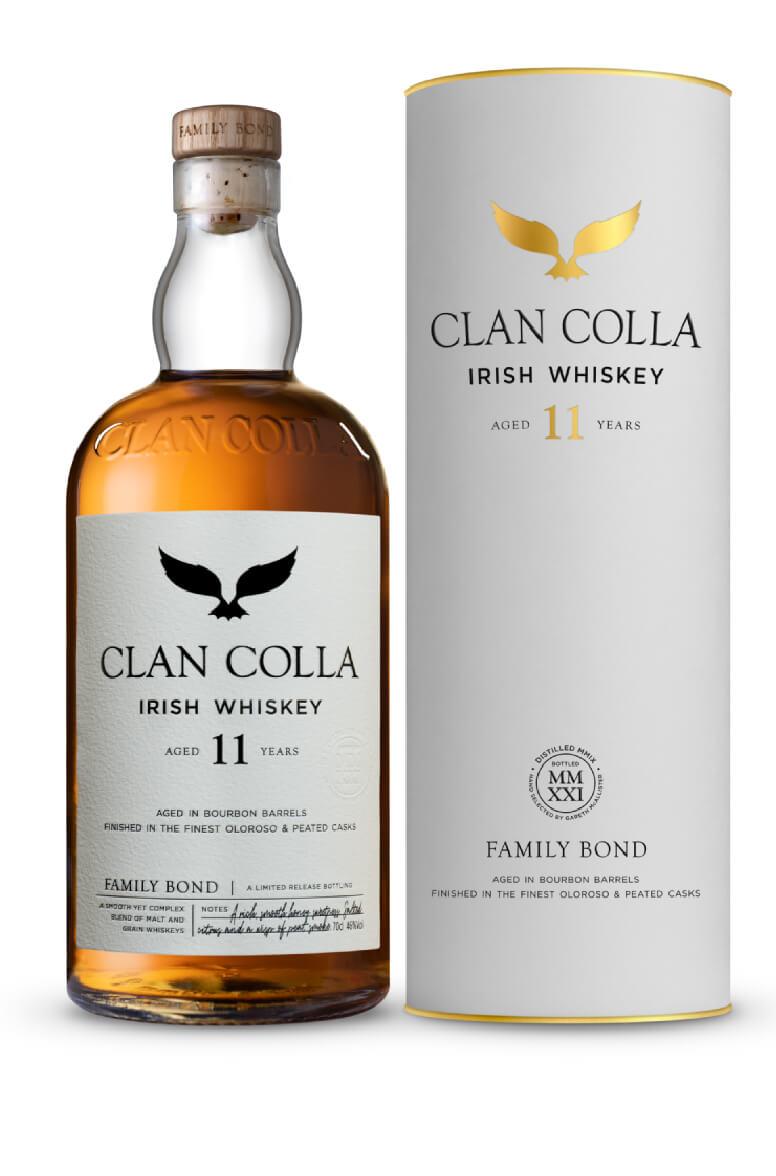Clan Colla Irish Whiskey Blend 11 Year Old