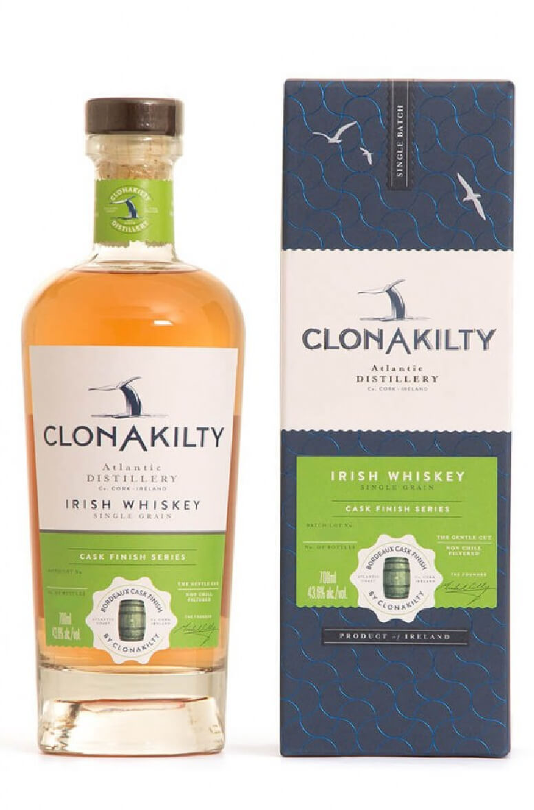Clonakilty Single Grain Bordeaux Finish