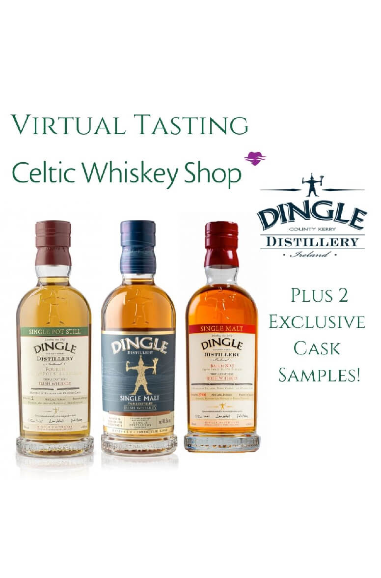 Dingle Whiskey Tasting Pack Inc Delivery In Eu 24th June