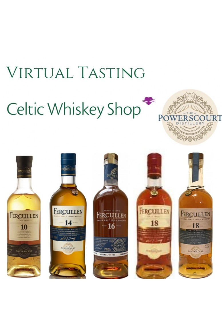 Fercullen Irish Whiskey Tasting Pack 22nd April EU Based Customers Including Delivery
