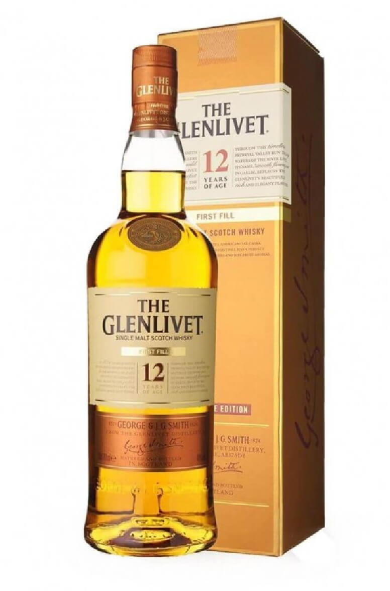 Glenlivet 12 Year Old First Fill Edition