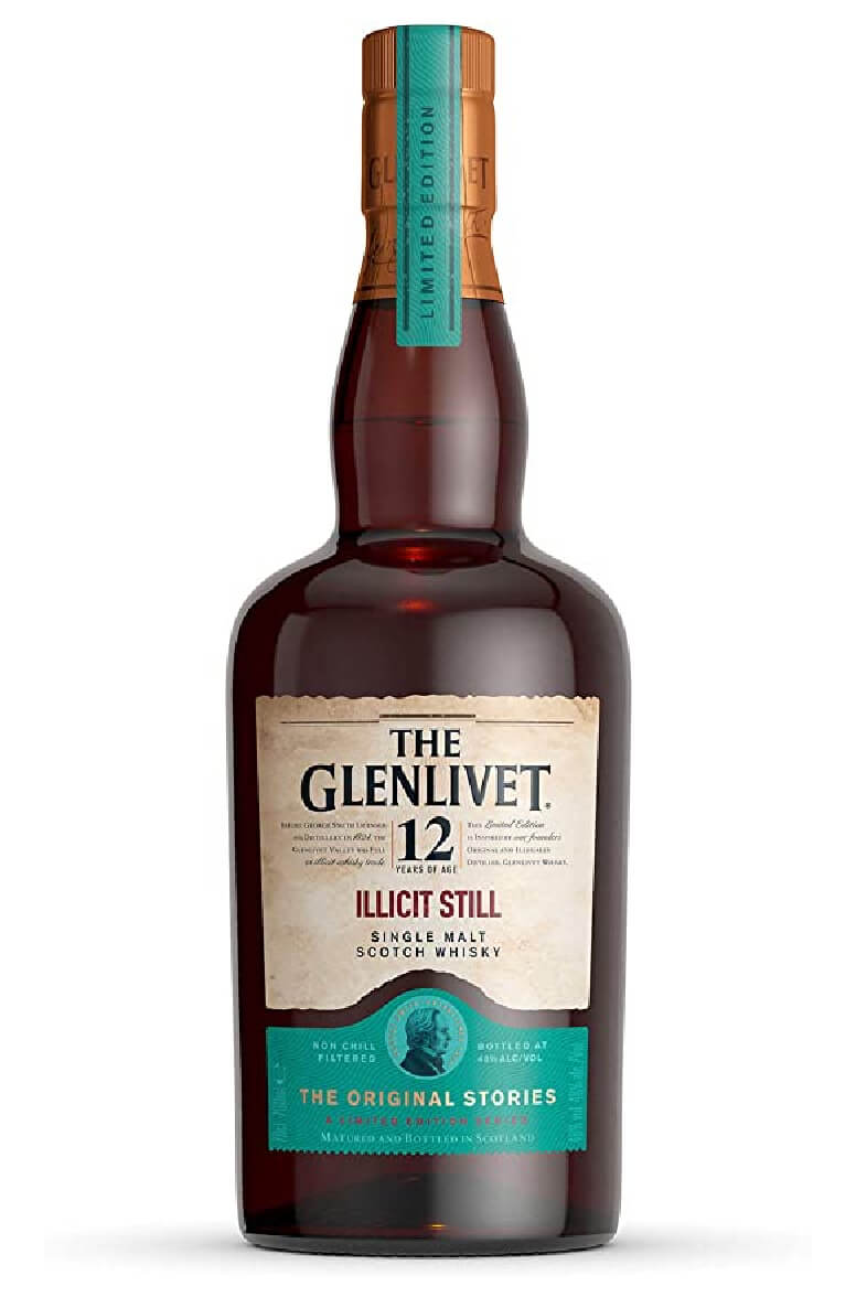 Glenlivet 12 Year Old Illicit Still
