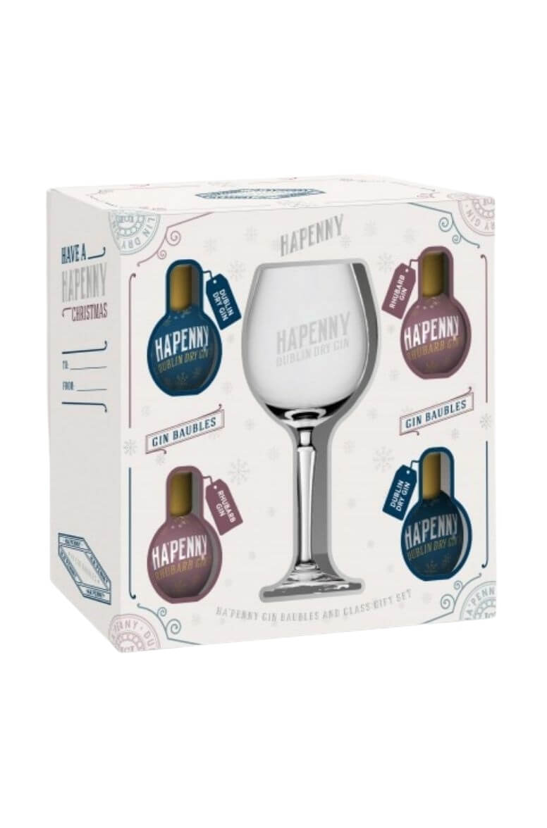 Ha'Penny Gin Bauble Gift Set