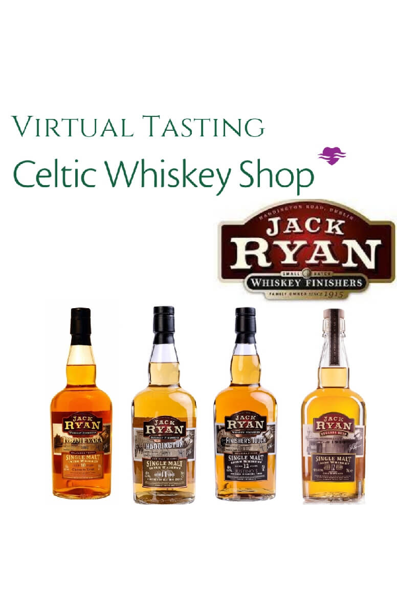 Jack Ryan Whiskey Tasting Pack Inc Delivery in EU 19th May