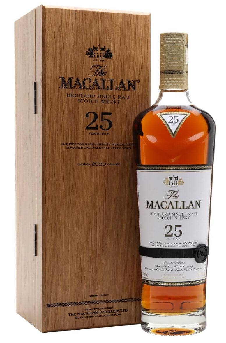 Macallan 25 Year Old 2020