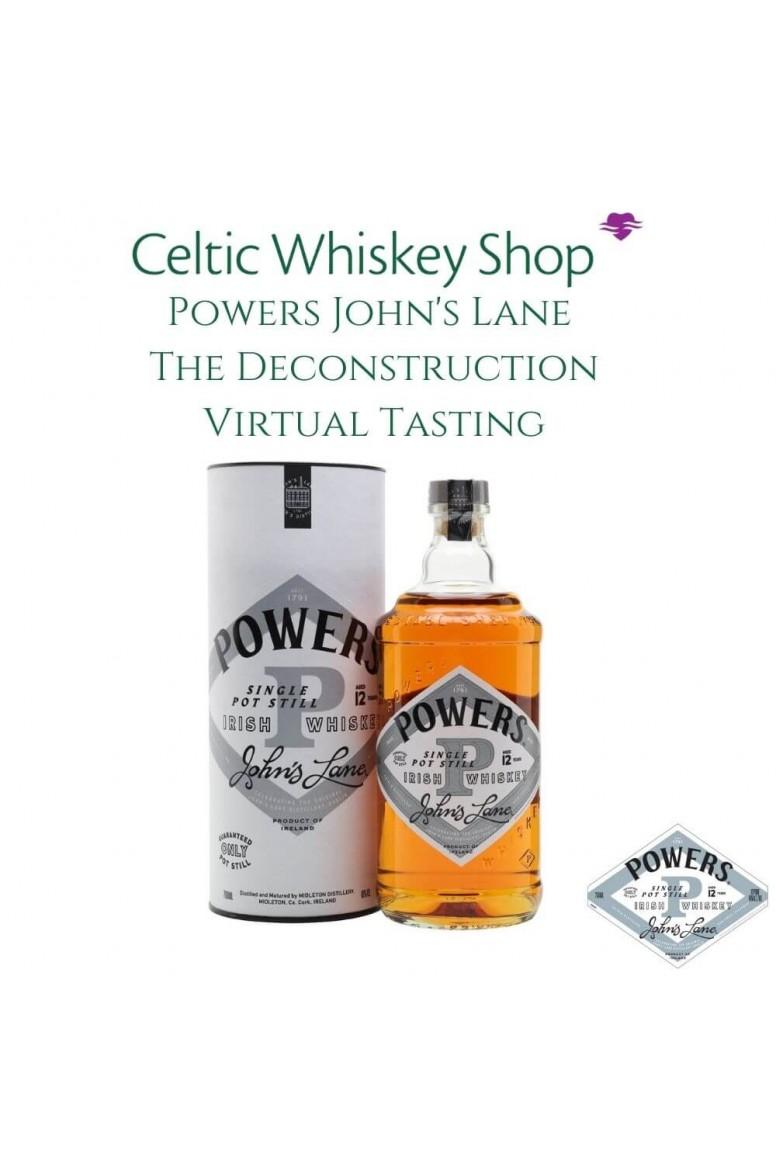 Powers John's Lane Deconstruction Tasting Pack Outside EU Customers Including Delivery 11th March