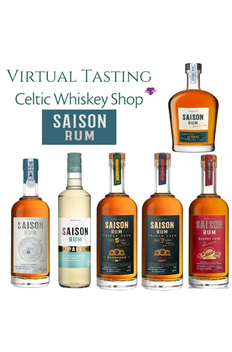 Saison Rum Tasting Pack EU Customers Inc Delivery