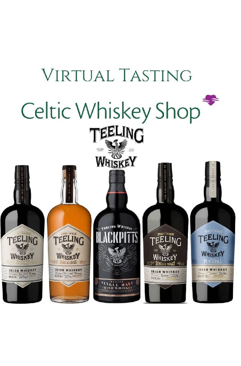 Teeling Unconventional Whiskey Tasting 22nd July Including Delivery Non-EU Based Customers