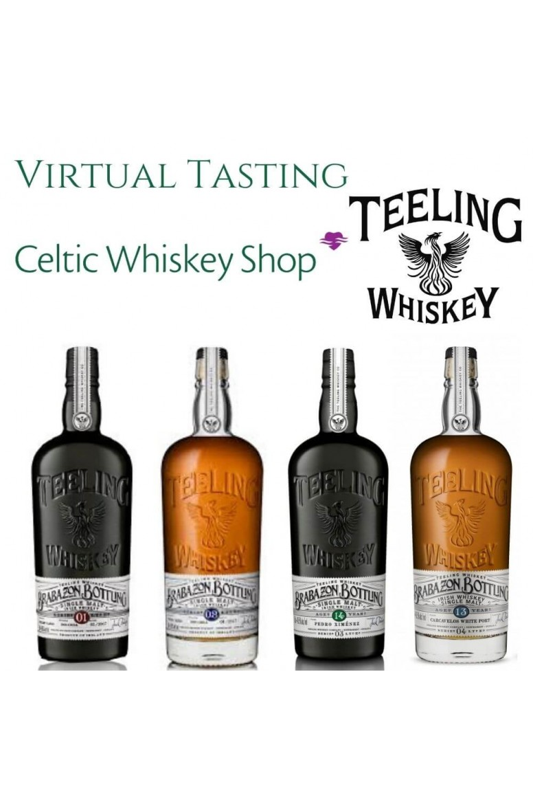 Teeling Brabazon Tasting Pack Outside EU Based Customers Including Delivery  25th March