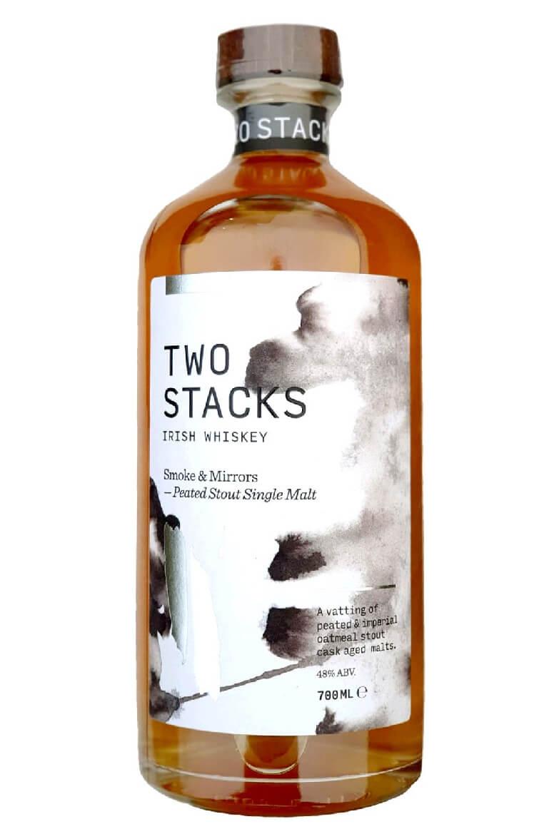 Two Stacks Irish Whiskey Smoke & Mirrors