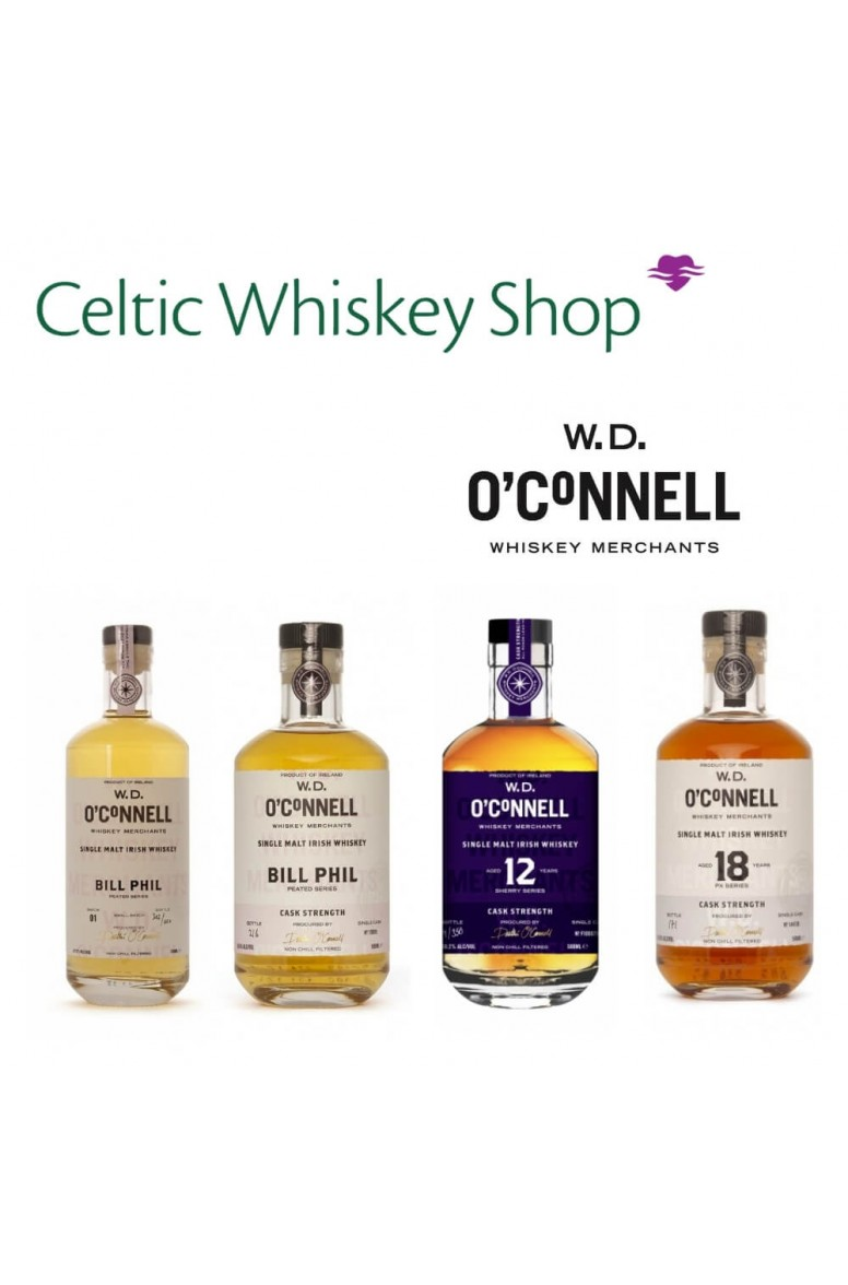 W.D. O'Connell Irish Whiskey Tasting Pack 4th March EU Based Customers Including Delivery