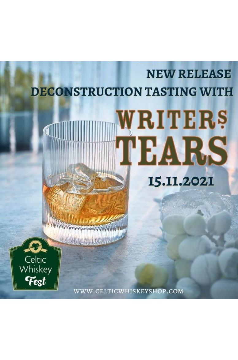 Celtic Whiskey Fest Writers Tears Icewine Cask Deconstruction Tasting Pack Including Delivery Outside EU 15th November
