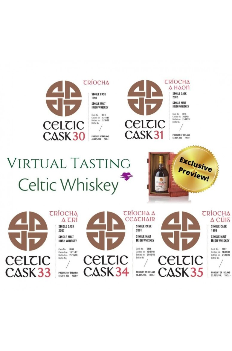 Celtic Cask Tasting Pack EU Based Customers Only (Including Delivery)