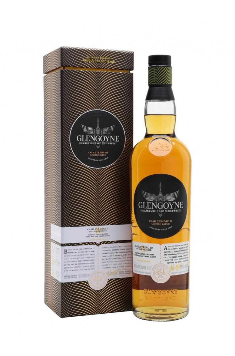 Glengoyne Cask Strength Batch 8 59.2%