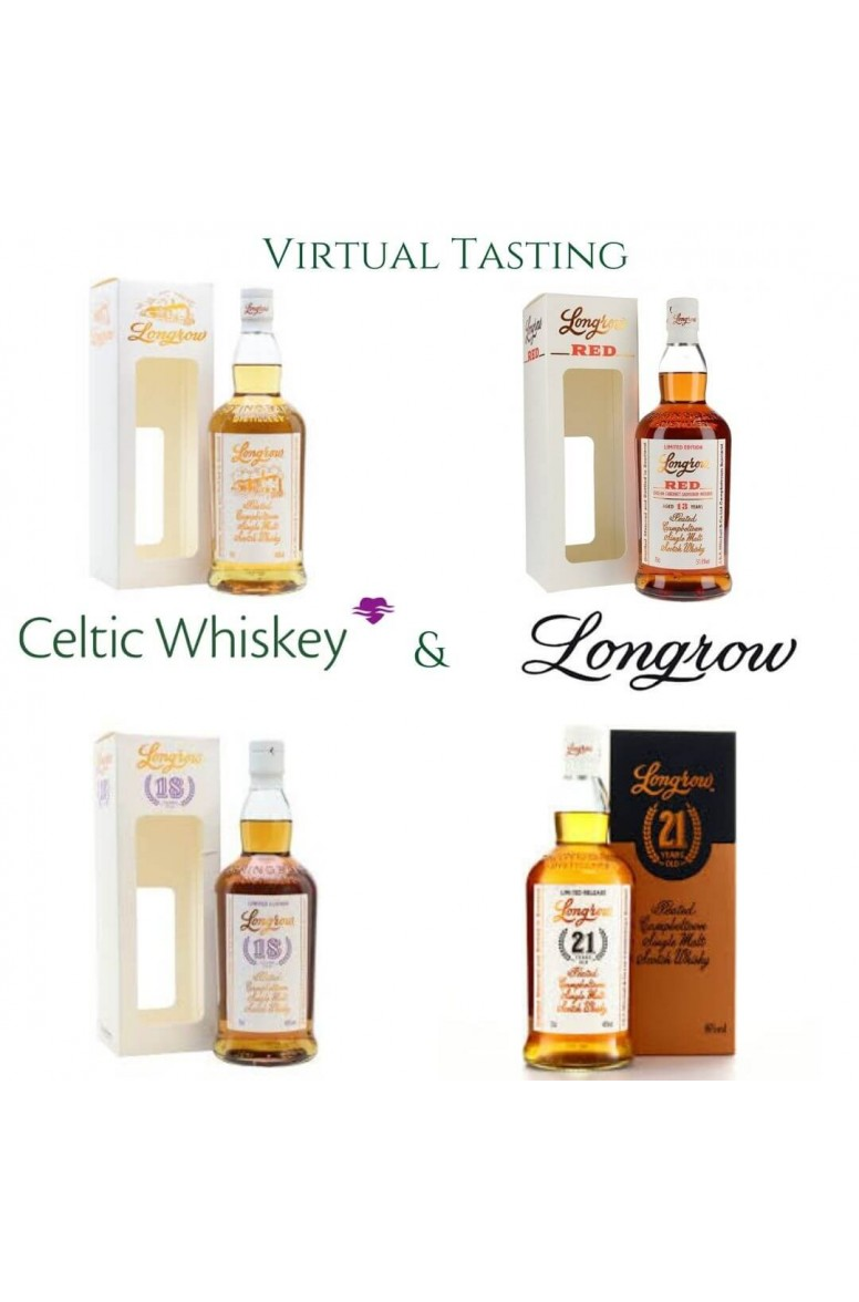 Longrow Single Malt Tasting Pack Including Delivery