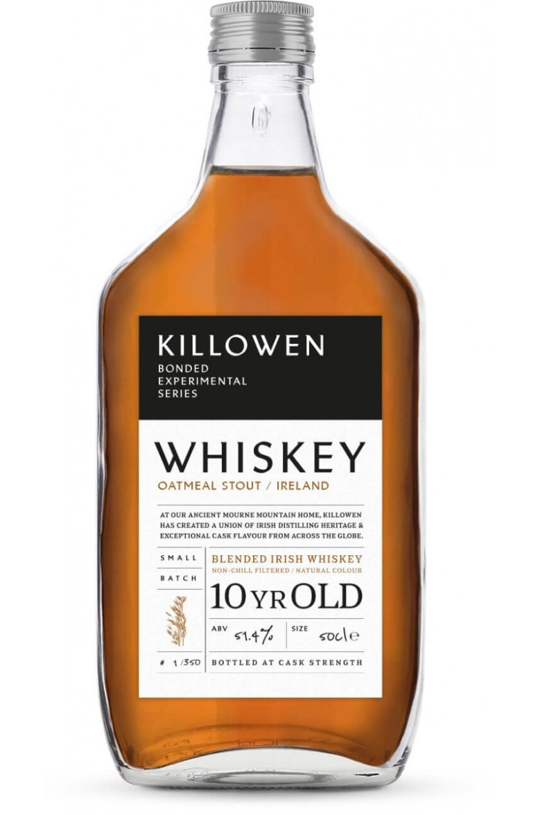 Killowen Bonder Experimental Series Oatmeal Imperial Stout Cask- 10 Year Old