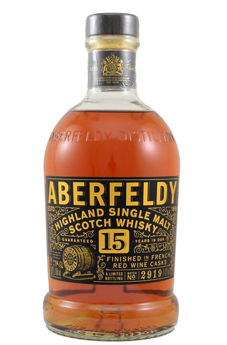Aberfeldy 15 Year Old Single Malt