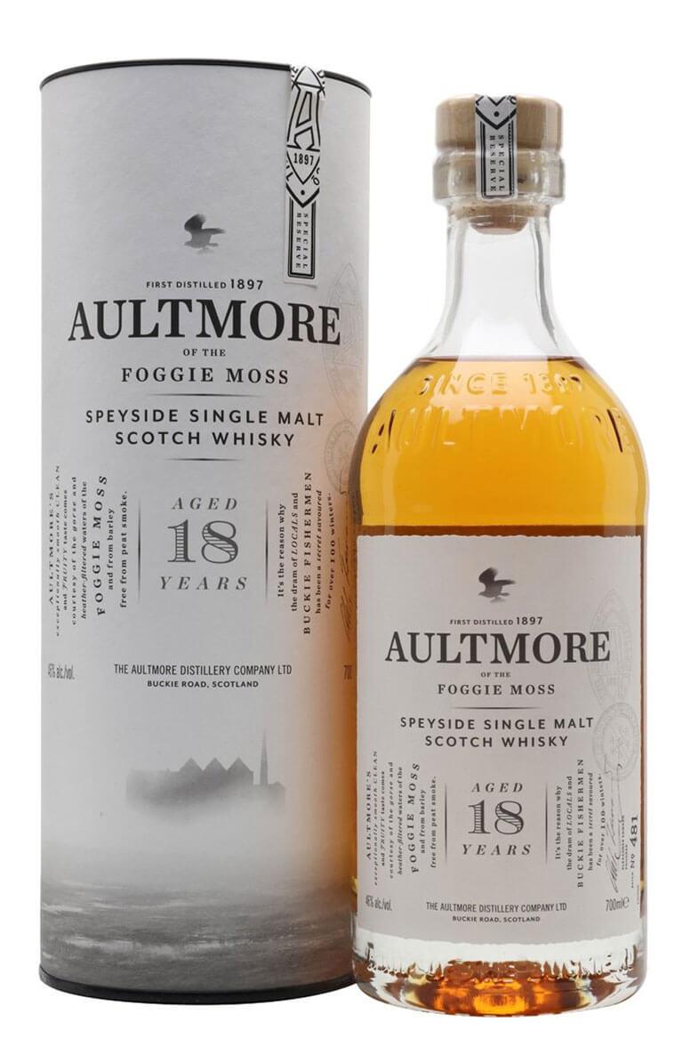 Aultmore 18 Year Old Single Malt
