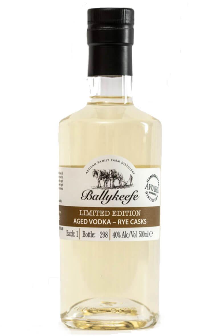 Ballykeefe Aged Vodka Rye Casks 50cl