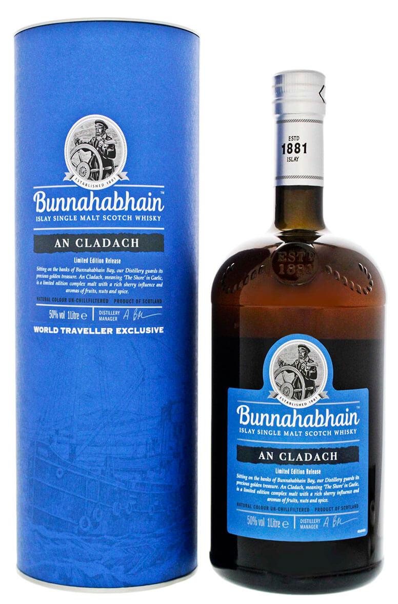 Bunnahabhain An Cladach Islay Single Malt Limited Edition 1L