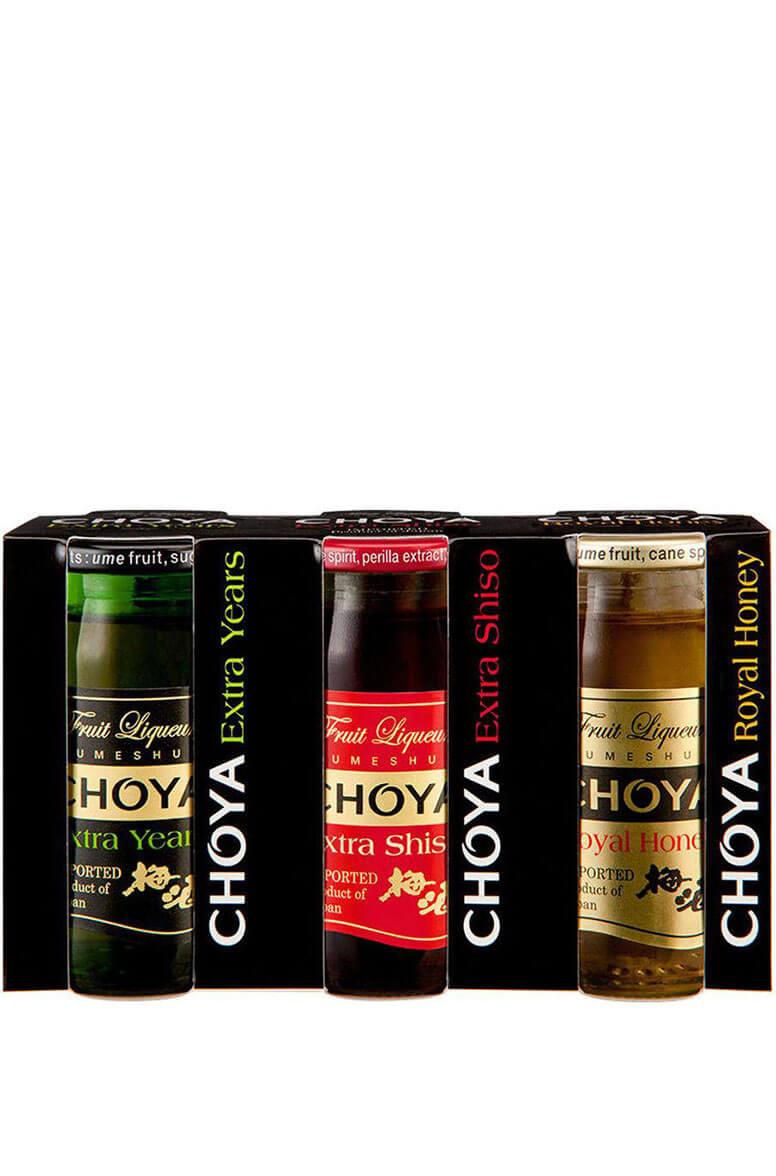 Choya Extra Umeshu 3-Pack 3x50ml