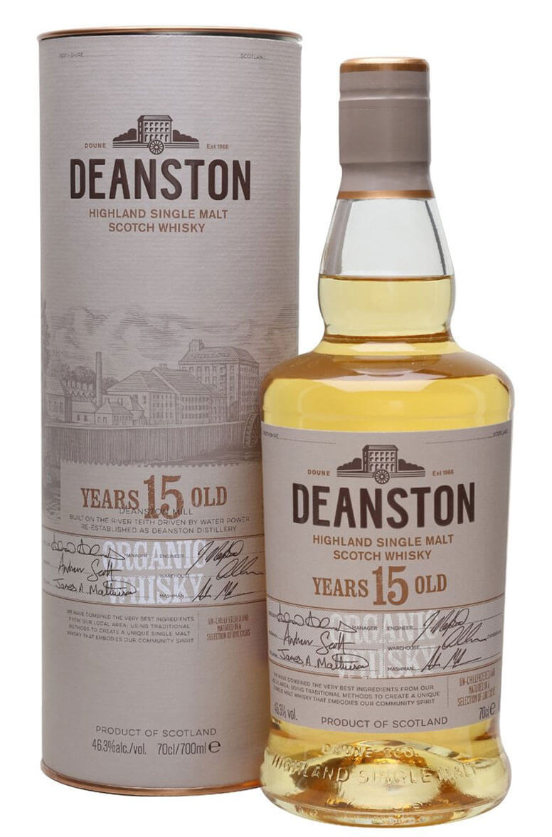 Deanston 15 Year Old Organic 70cl