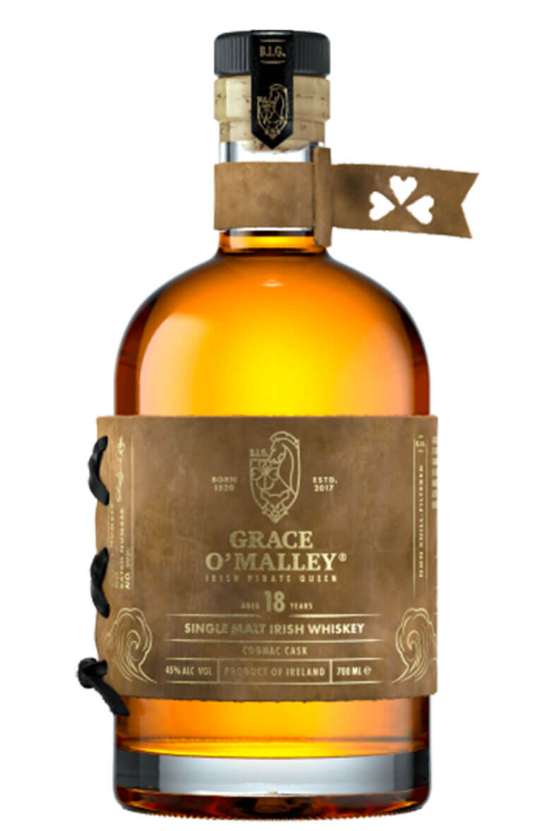 Grace O' Malley 18 Year Old Cognac Finish