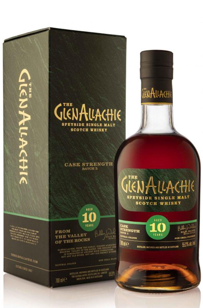 GlenAllachie Cask Strength 10 Year Old Batch 5