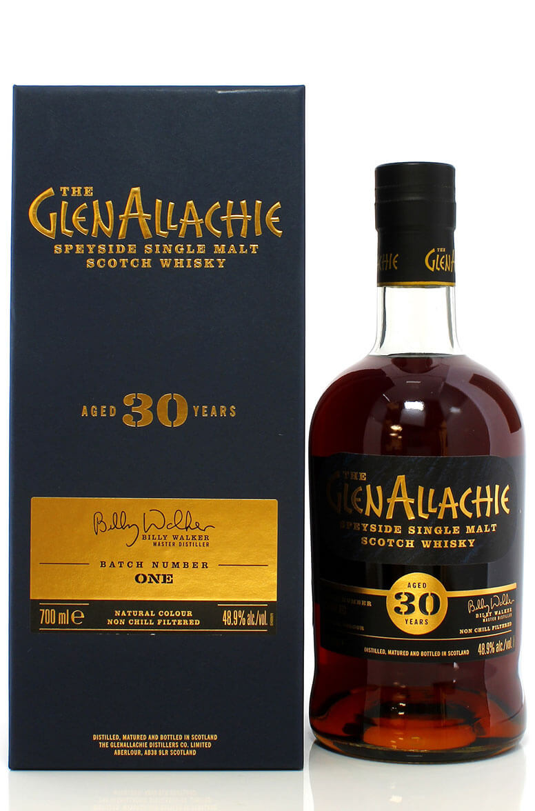 Glenallachie 30 Year Old Batch One 48.9%