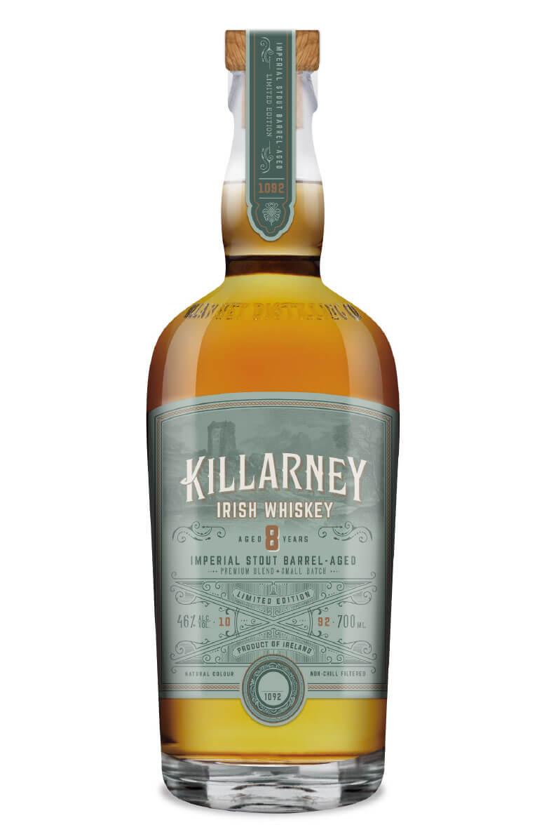 Killarney 8 Year Old Imperial Stout Finish Irish Whiskey