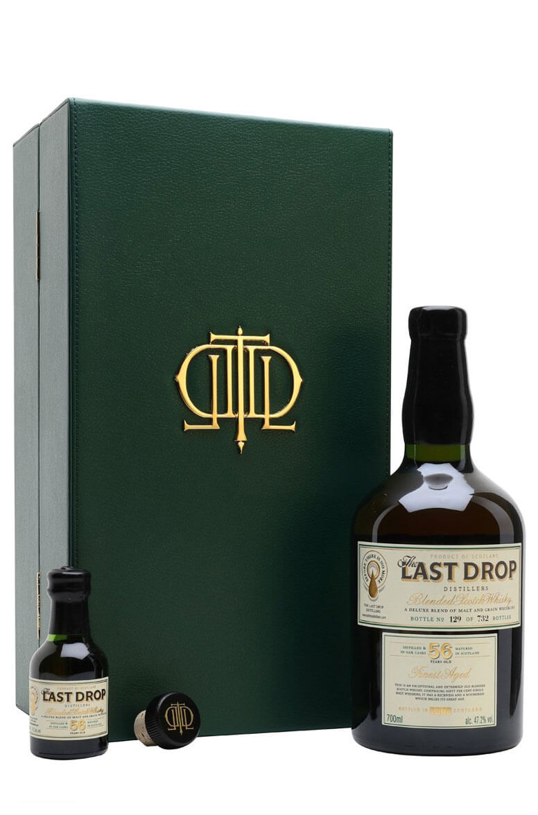 The Last Drop 56 Year Old Blended Scotch Whisky