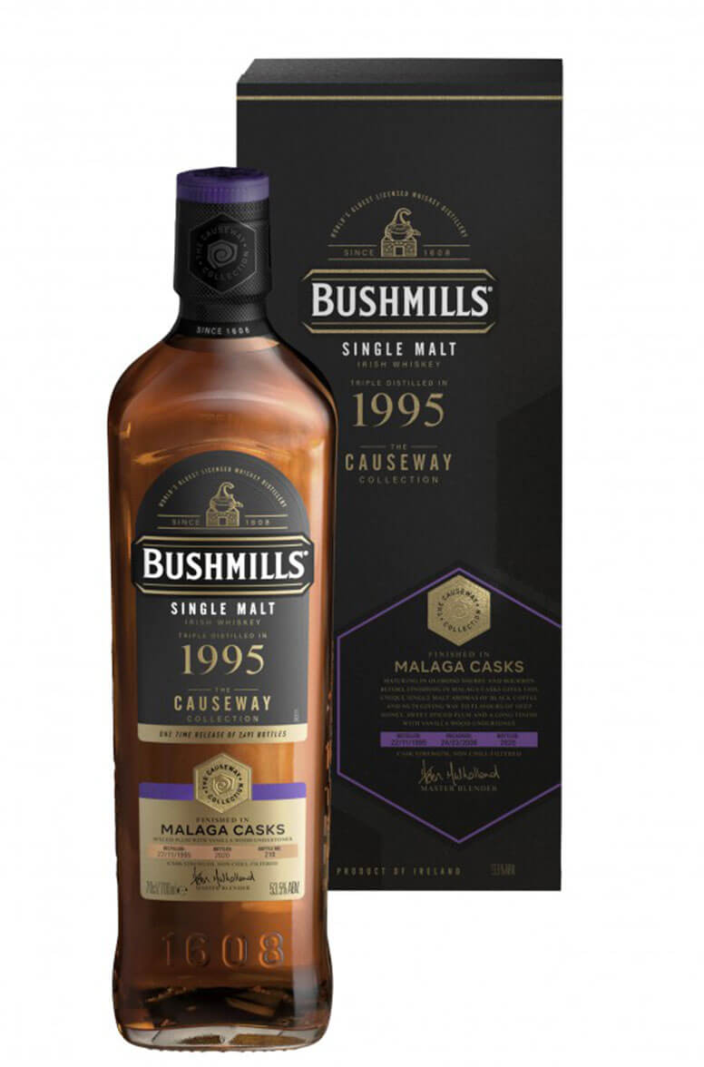 Bushmills Causeway Collection 1995 Malaga Cask