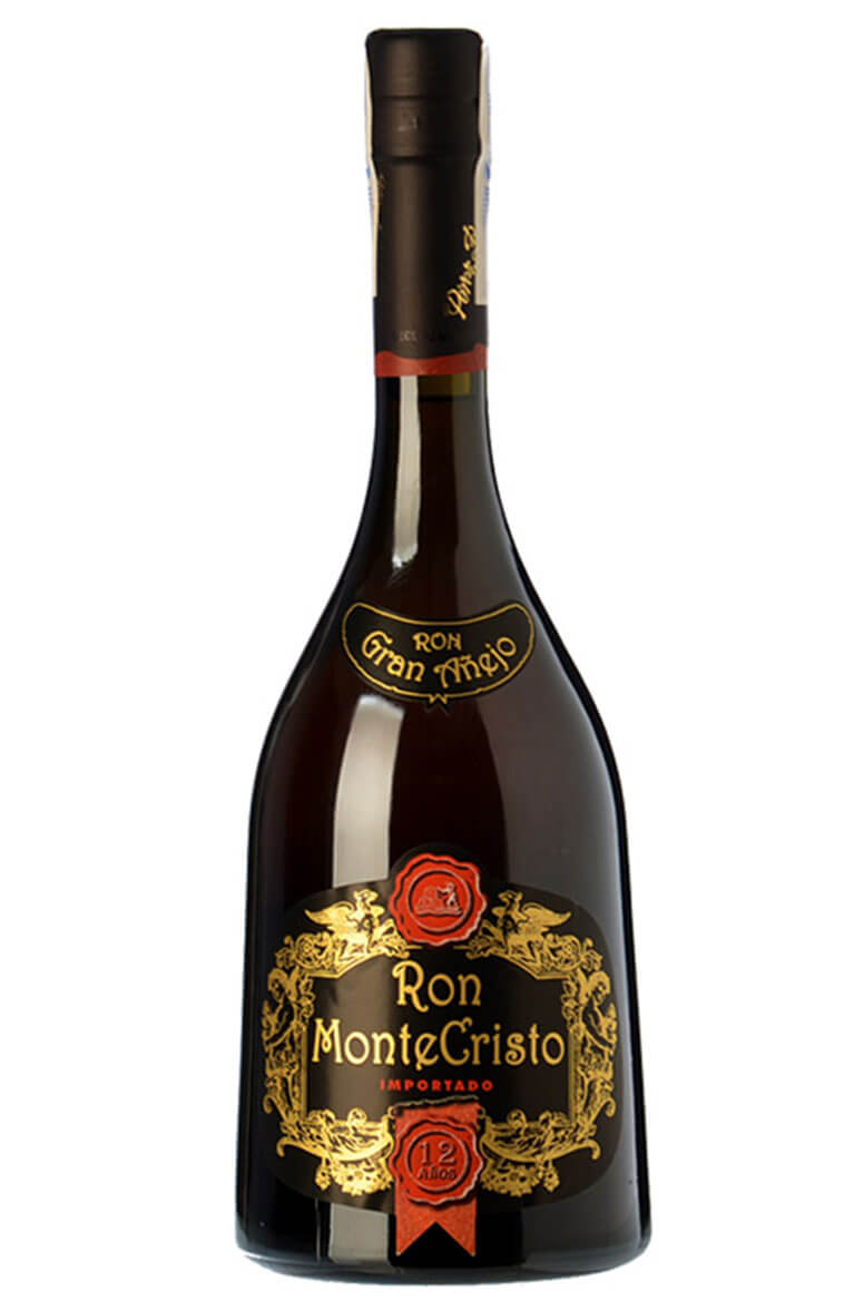 Monte Cristo Gran Anejo 12 Year Old Rum 70cl