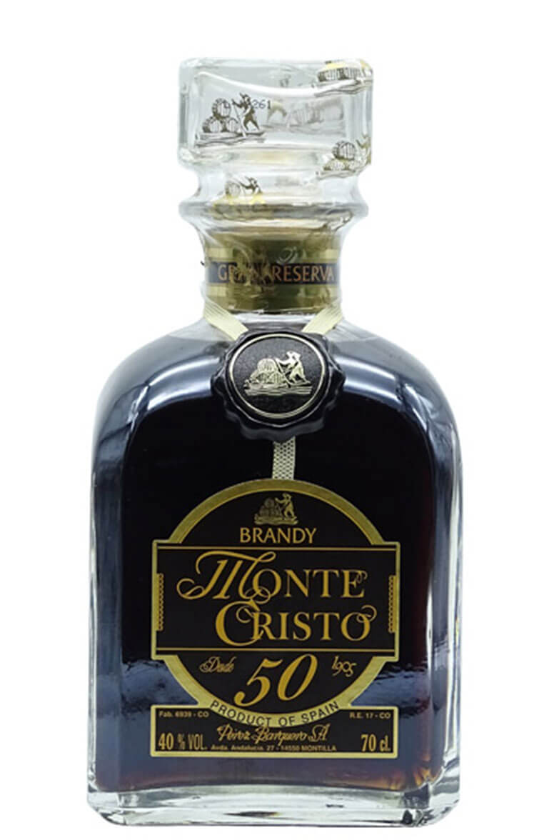Monte Cristo 50 Year Old Brandy