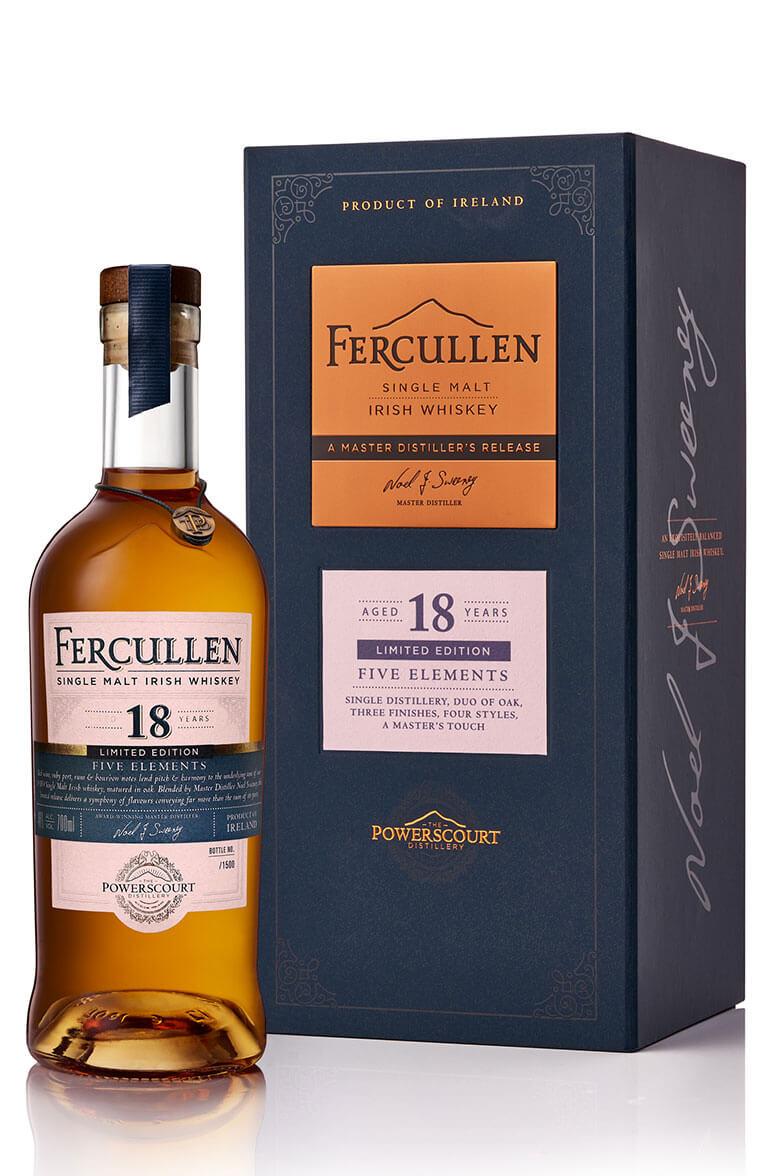 Fercullen Five Elements 18 Year Old Single Malt Limited Edition