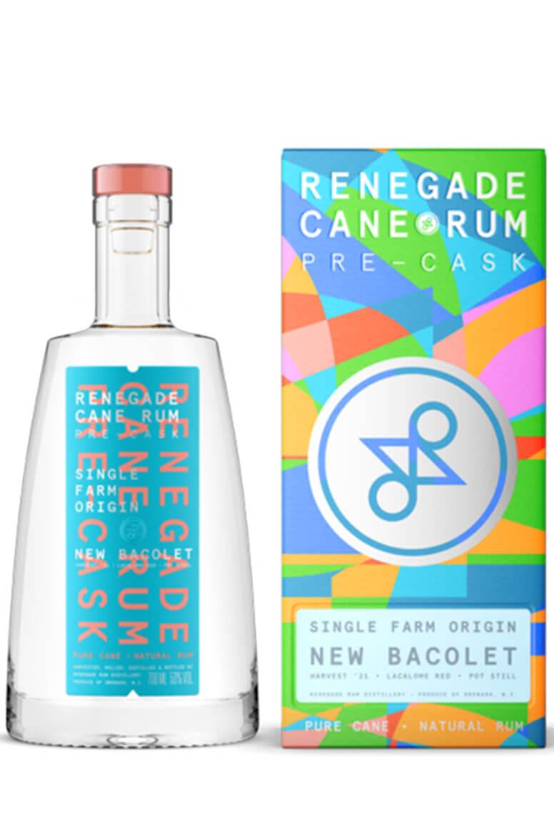 Renegade Pre Cask Rum New Bacolet 70cl